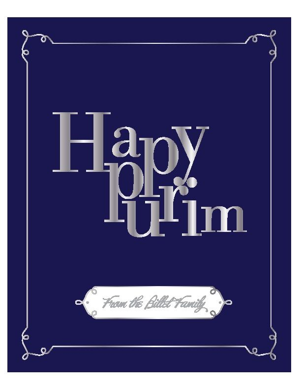 Printable Purim Cards for Every Style | We have 6 kinds of cards!!