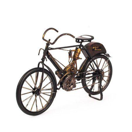 Miniatura Bicicleta Harley-Davidson Antiga