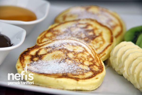 Kolay Pankek Tarifi - (Turkish) - Easy Recipe for Pancakes ...