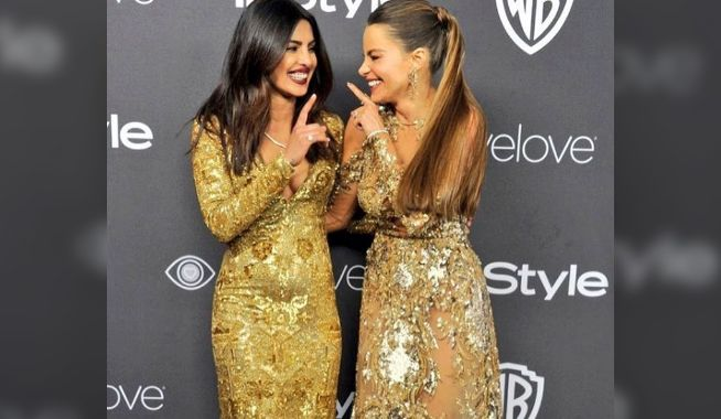 Watch Video: Priyanka Chopra and Sofia Vergara Naughtiest Side In The Elevator