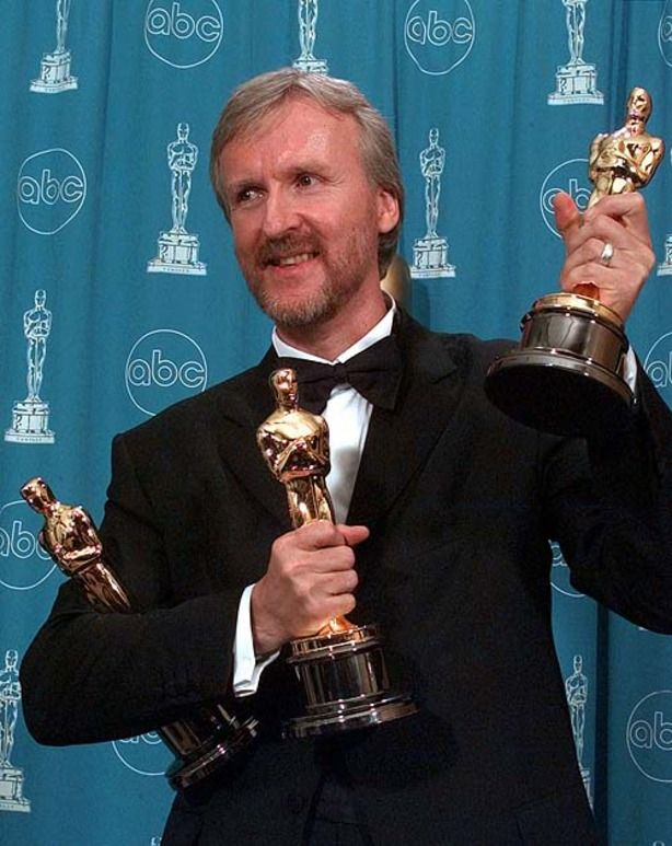 Director James Cameron - Titanic genius!