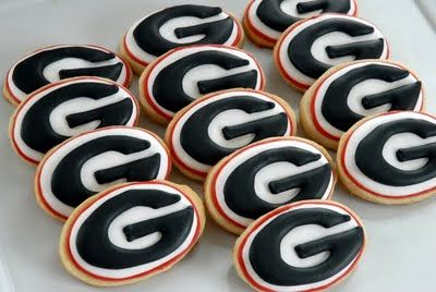 UGA cookies ... I will be stepping up my game.
