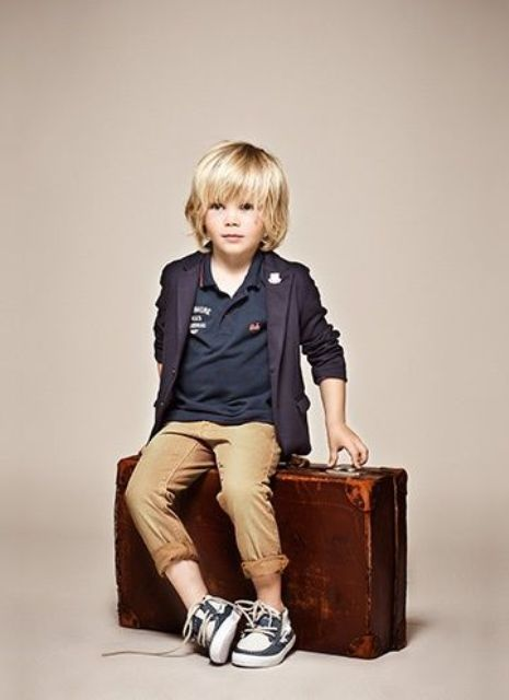 Picture Of awesome and trendy haircuts for little boys  15