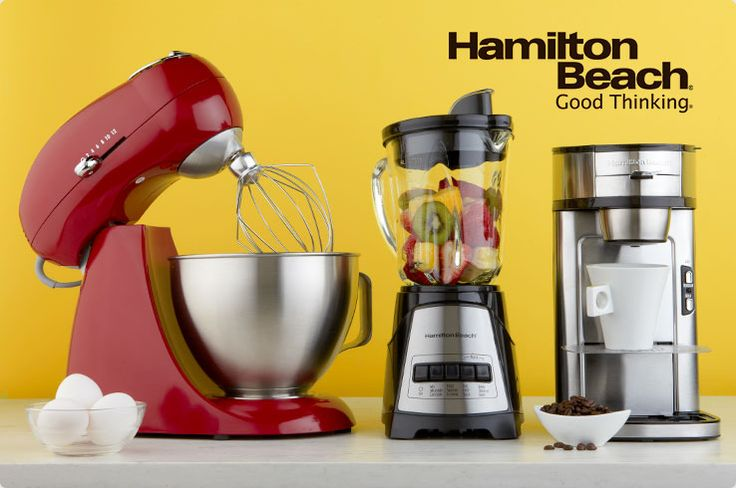 Hamilton Beach kitchen appliances and Good Thinking on HSN