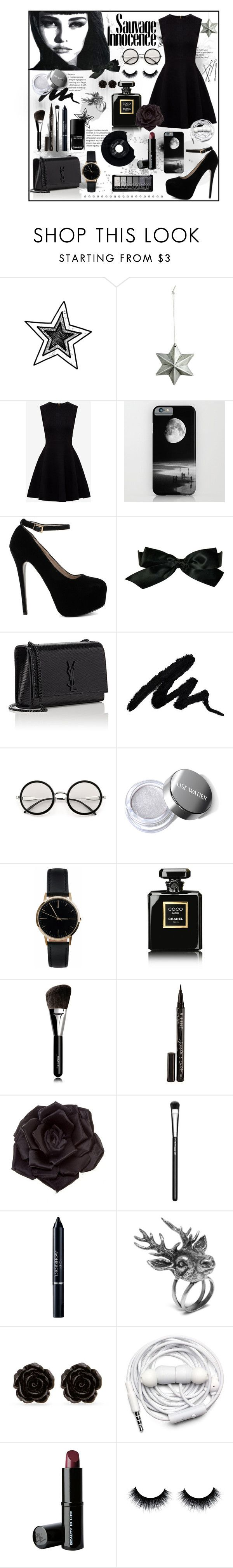 """Miss Innocente"" by lajoiedesarah on Polyvore featuring mode, Ted Baker, Chanel, Yves Saint Laurent, Freedom To Exist, CHESTERFIELD, Smith & Cult, Johnny Loves Rosie, MAC Cosmetics et Christian Dior"
