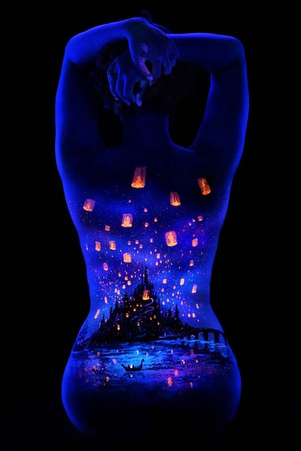 Best Black Light Tattoo Ideas On Pinterest Glow Tattoo Uv - 30 creative black light tattoos you can see only under uv light 8 is what i call amazing