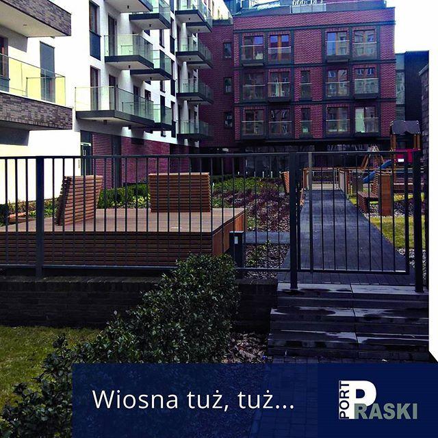Już niedługo #wiosna! Może warto pomyśleć o nowym #mieszkaniu w Porcie Praskim?  #PortPraski #apartamentowiec #luksus #apartamenty #widok #centrum #warszawa #apartments #wiosna #spring