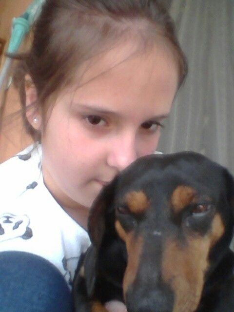 Szeretlek kutyus!