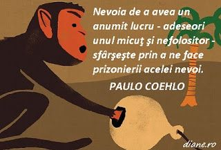 diane.ro: Paulo Coehlo: Capcană pentru o maimuţă