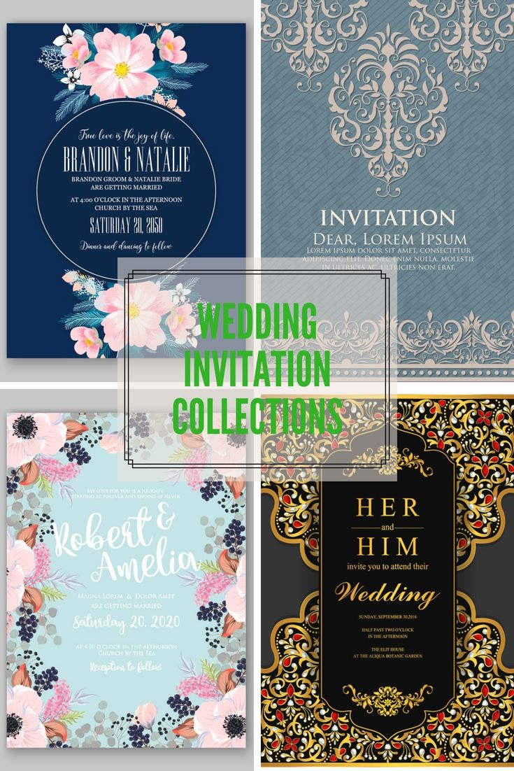 Beautifully Designed Wedding Invitations Template Online For