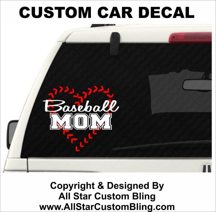 Best Custom Car Decals Images On Pinterest Car Window Decals - Custom car bling decals