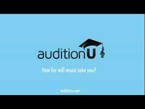 auditionU Video