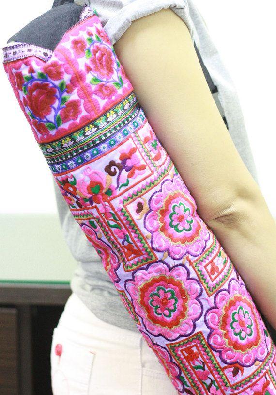 Yoga mat bag.....if I did yoga this wld be my bag lol.