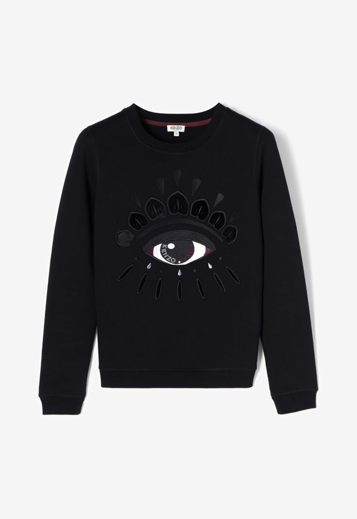 93d878f7d BLACK Eye Sweatshirt for women KENZO | Things to Wear & style ...
