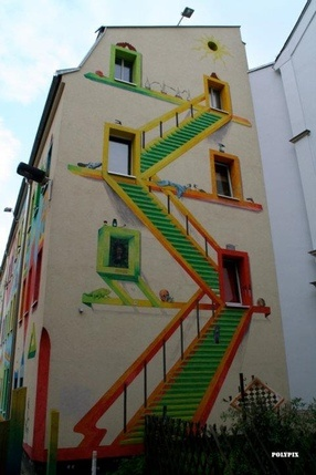 StreetArt; how my house will end up looking...