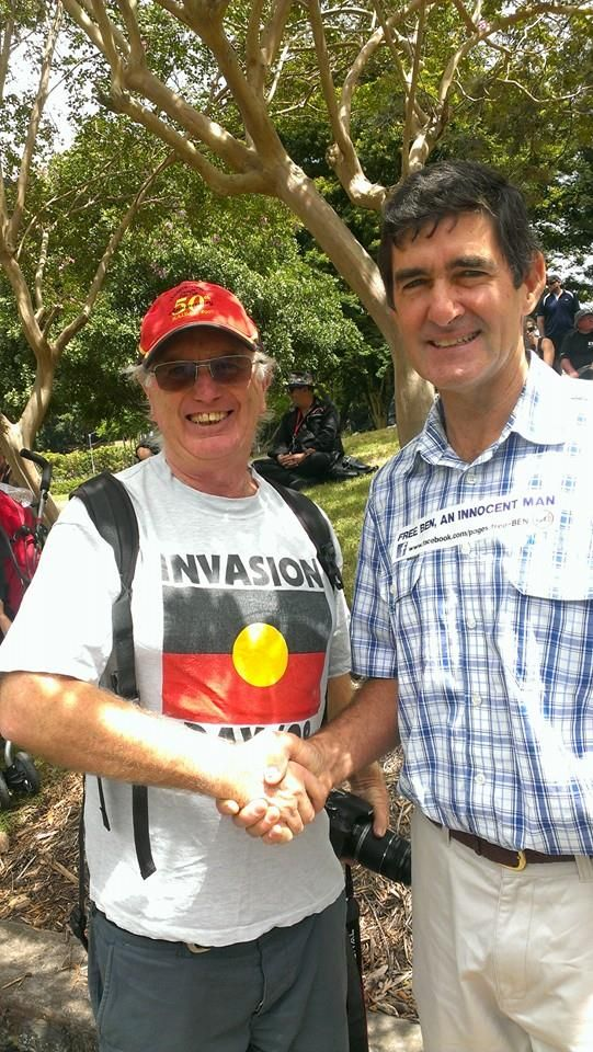 Independent MP Peter Wellington at the Anti VLAD Rally