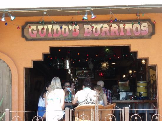 Guidos Burritos Is A Loud And Crazy Mexican Restaurant Bar Perfectly Located Downtown On The Be Places To Eat In Around Ocean City Maryland