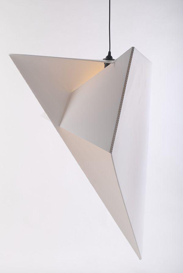 origami lamp | Aldona Banasiuk