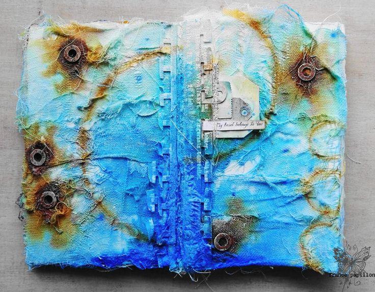 France Papillon art journal http://www.france-papillon.com/single-post/2016/09/26/Journal-on-Monday-week-124