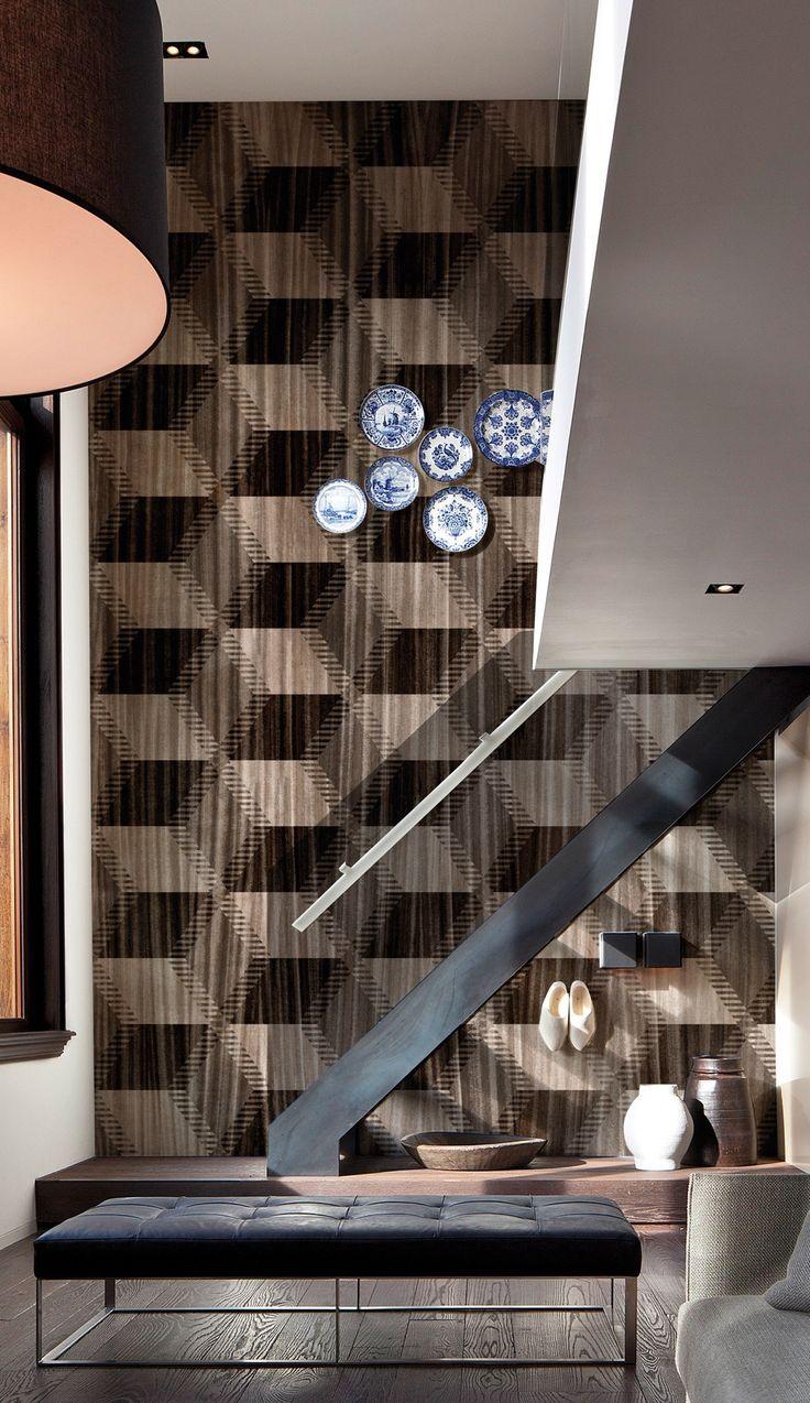 Motif Wood Effect Panoramic Wallpaper WOODEN RHAPSODY   @inkiostrobianco