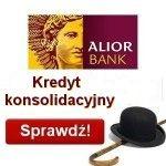 Kredyt konsolidacyjny Alior Bank udzielany do kwoty 150.000 zł na okres 10 lat z gwarancją najniższej raty oraz niskim oprocentowaniem jedynie 5%. Jest to kredyt konsolidacyjny dla zadłużonych udzielany bez zabezpieczeń oraz bez prowizji na spłatę drogich kredytów w innych bankach. Ta