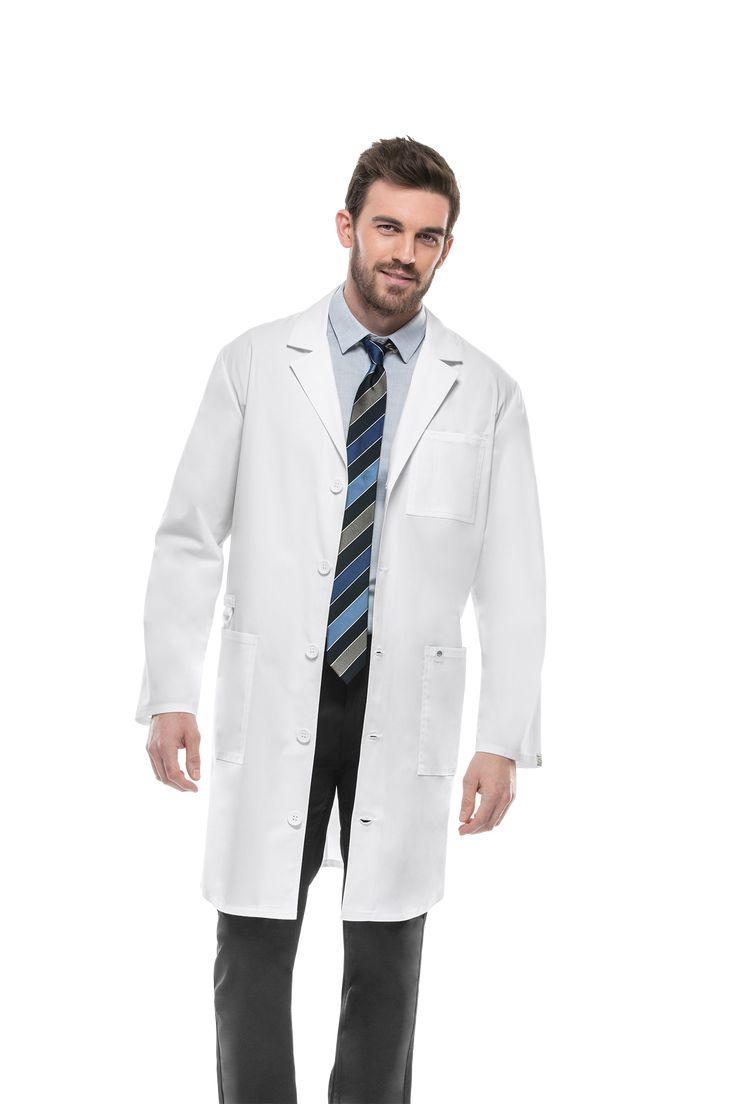 BATA MÉDICA UNISEX CODE HAPPY Ref. 36400AB-WHCH  #Batas #Médicos