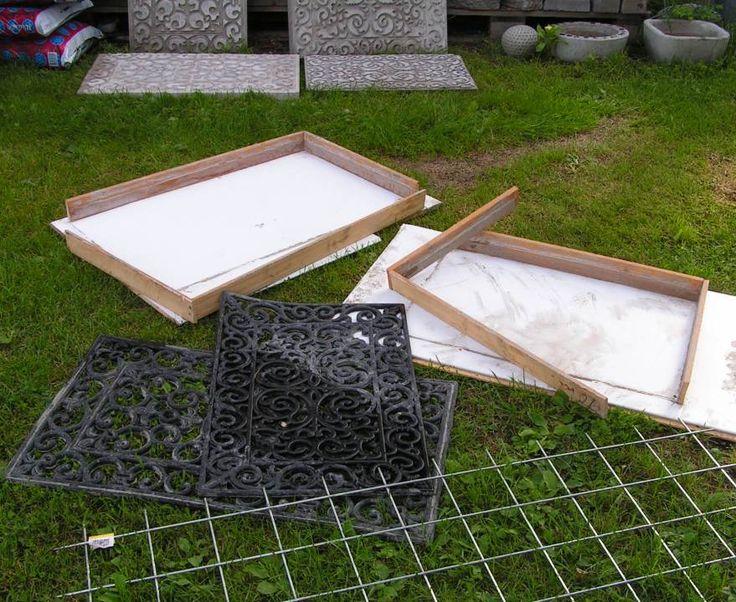 Platten Aussenbereich Fussmatte
