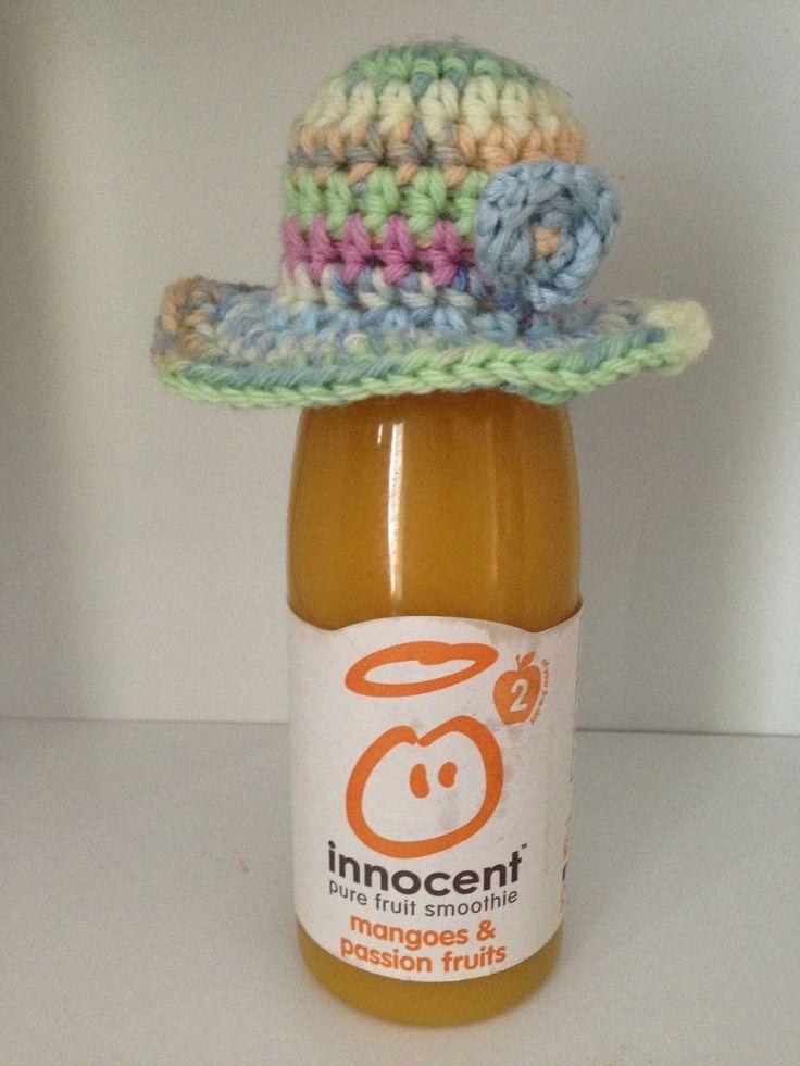 "Innocent ""Big Knit"": Hat 9 sun hat - http://innocent-bigknit.blogspot.ie/2013/08/hat-9.html"
