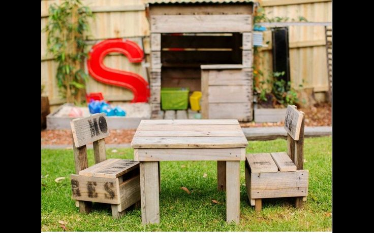 Our range of kids furniture is built to last a lifetime. Made from the same recycled timbers as the cubby house they perfectly compliment the space. We have arranged sizes to suit small kids and...