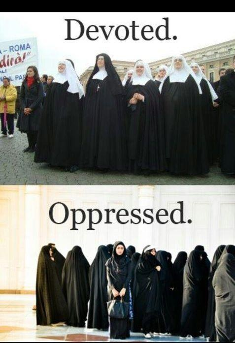 Muslim women are considered oppressed to majority of the ...