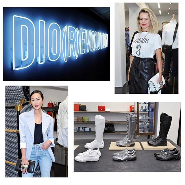 A wonderful evening celebrating the launch of @Dior at Maxfield, with an exclusive preview of the Spring-Summer 2017 collection by #MariaGraziaChiuri // The #DiorxMaxfield pop-up store opens today #DiorSS17 #Maxfieldla #Maxfield