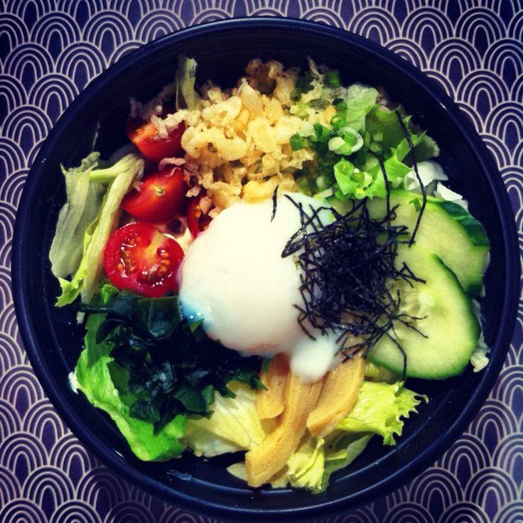 Salade de nouilles de blé  Doma Lyon traiteur Japonais