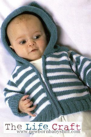 Baby Knitting Patterns Free Baby Sweaters Knitting Patterns | KnittingHelp.com