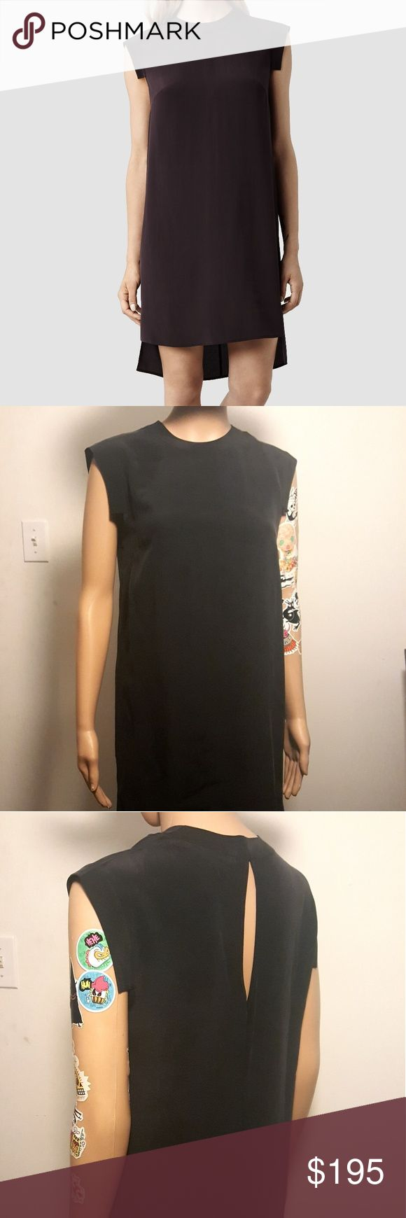 Allsaints Tonya Lew Dress NWT Brand new never worn Allsaints dress. This style tends to be a bit snug so could fit a 2 and a 4 depending on your frame. Will come with an Allsaints shopping bag. All Saints Dresses Asymmetrical