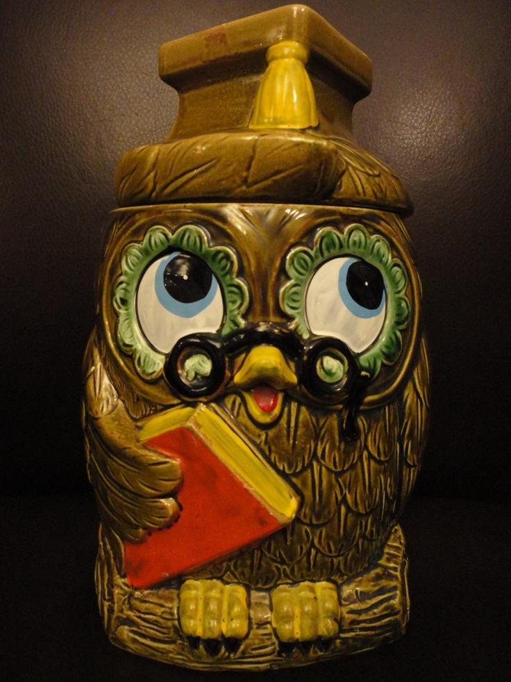 Nerdy Cookie Jar : nerdy, cookie, Vintage, Bookworm, Cookie, Jars,, Worms
