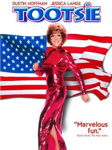 *TOOTSIE,(1982) Poster:  An unemployed actor w/ a reputation for being difficult disguises himself as a woman to get a role in a soap opera.  STARRING: Dustin Hoffman, Jessica Lange, & Teri Garr