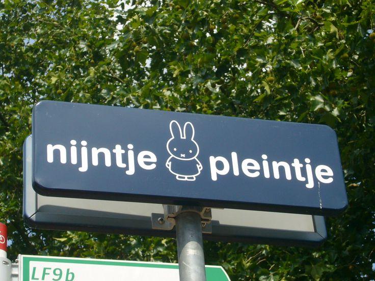 ミッフィー広場の看板 : ミッフィーの街「ユトレヒト」がいろいろかわいかった! - NAVER まとめ