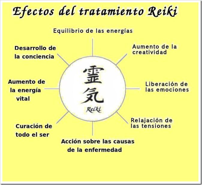 Efectos positivos del Reiki