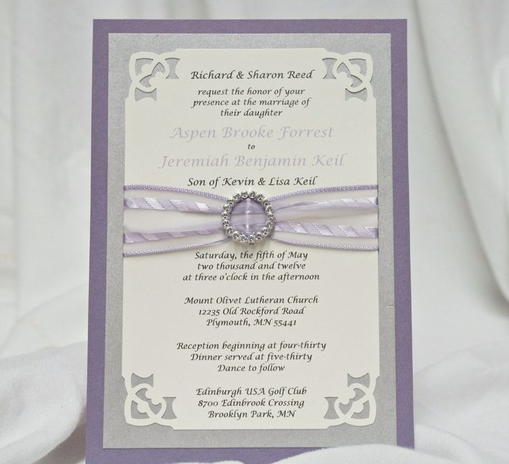 handmade wedding cards ireland%0A Custom Handmade Wedding Invitations with Sewn Pocket         via Etsy