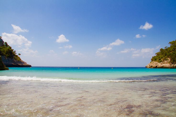 CALA MITJANA - île de Minorque aux Baléares Espagne