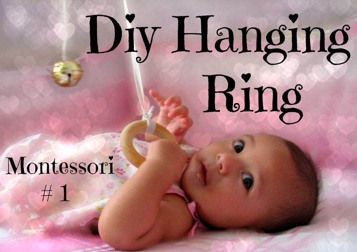 Montessori hanging ring