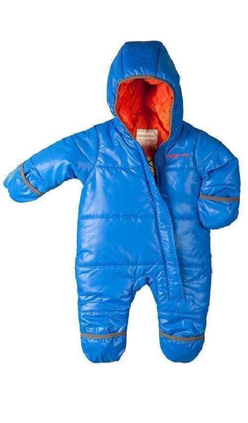872cc54002ea Bunting Snow Suit Baby Toddler Winter Insulated Suit Warm Waterproof ...