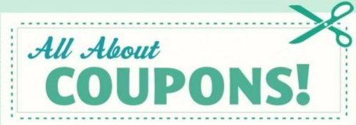 Coupons, freebies and deals.
