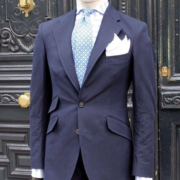 BLUE MOMENTS #Harrys1982 #ss16 #Thecoloristhekey #suit #jacket #tie #shirt #style #menswear #shoponline #man #menstyle by harrys1982