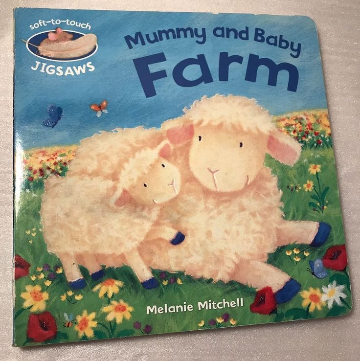 Mummy And Baby Farm Melanie Mitchell Soft To Touch Jigsaws Hardcover Childrens  | eBay
