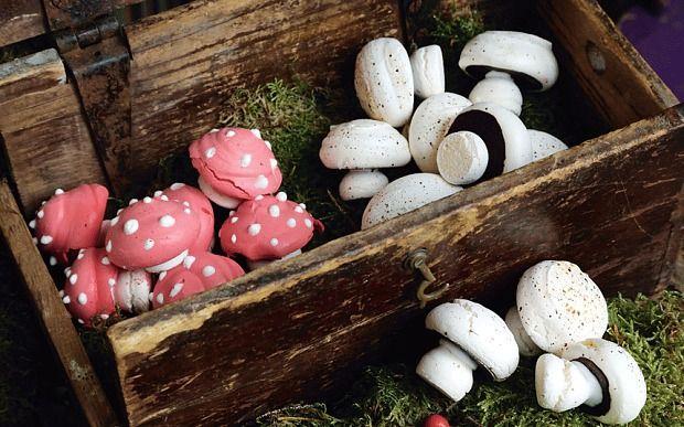 Magic Meringue Mushrooms