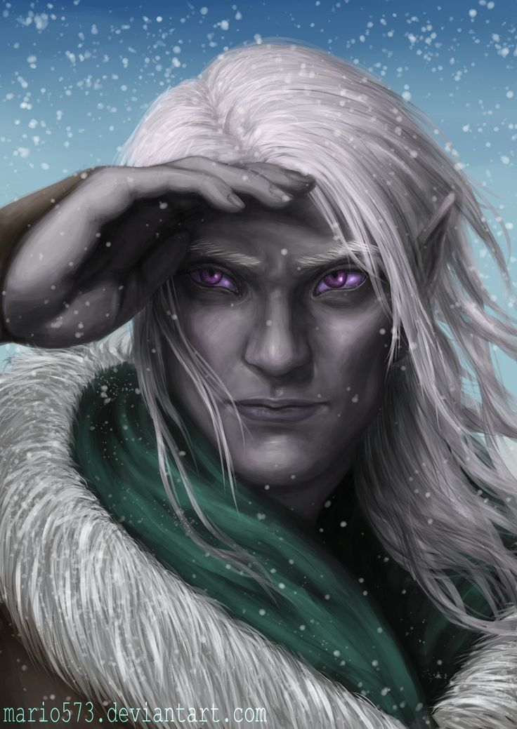drow - Google Search << Only one drow has those gorgeous violet eyes, and that's the fabulous Drizzt Do'Urden!