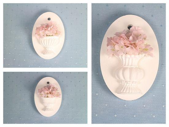 アロマフレグランスストーン用のシリコンモールド 花瓶型