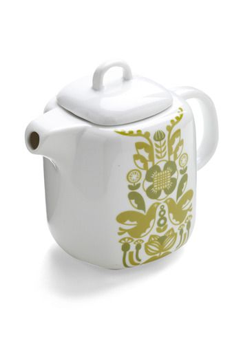 I think I might have to start a teapot collection...