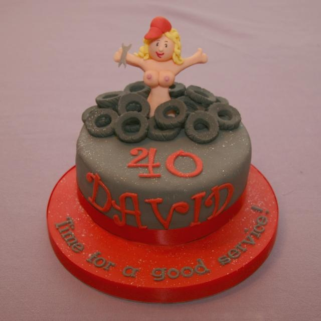 Cake Decorating For 40th Birthday : 40th Birthday Cake Surprise Cake decorating Pinterest